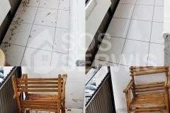 Sprzątanie balkonu